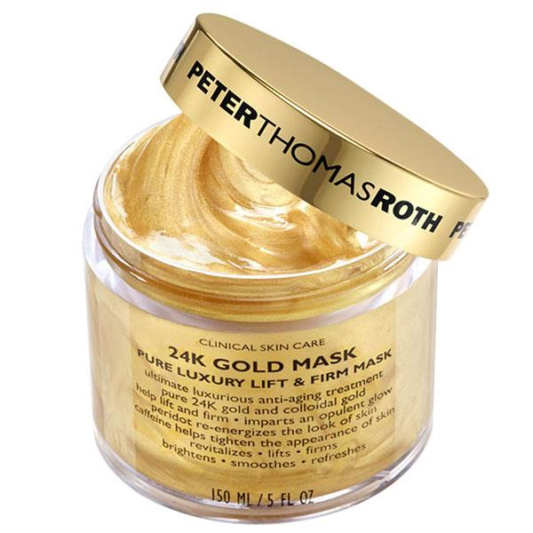 "** MATURE** <br><br> Peter Thomas Roth's 24k Gold Mask is an anti-ageing treatment that helps to soften fine lines and wrinkles. It creates a brighter complexion and smoothens the skin's texture. It contains caffeine and magnesium that tighten, and re-energise the skin. <br><br> **24k Gold Mask by Peter Thomas Roth, $108 at [Sephora](https://www.sephora.com.au/products/peter-thomas-roth-24k-gold-mask-150ml/v/default |target=""_blank"")**"
