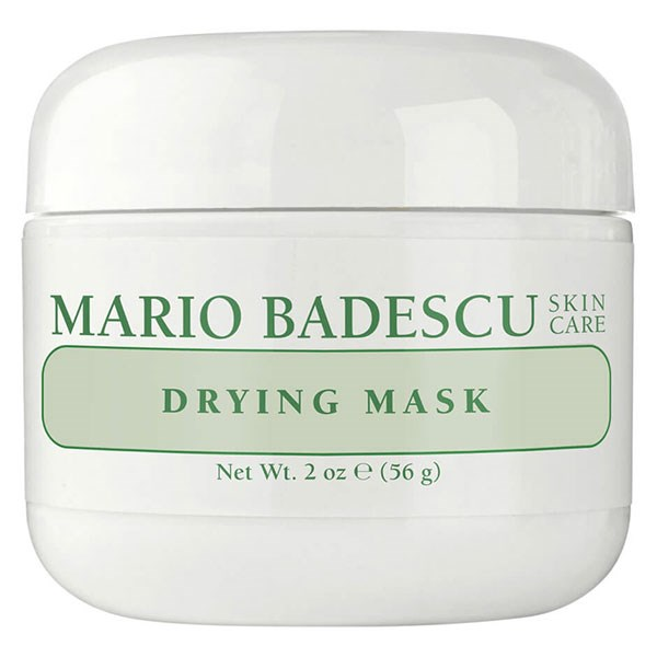 "**CONGESTED** <br><Br> Mario Bedescu's Drying Mask helps to clear acne breakouts and dry existing pimples. It's soothing Calamine makes it safe and gentle for the skin, and can also be used for other problematic areas around the body, such as the back and chest.  <br><br>	 MARIO BEDESCU Drying Mask, $26, at [MECCA](https://www.mecca.com.au/mario-badescu/drying-mask/I-004666.html |target=""_blank"")."