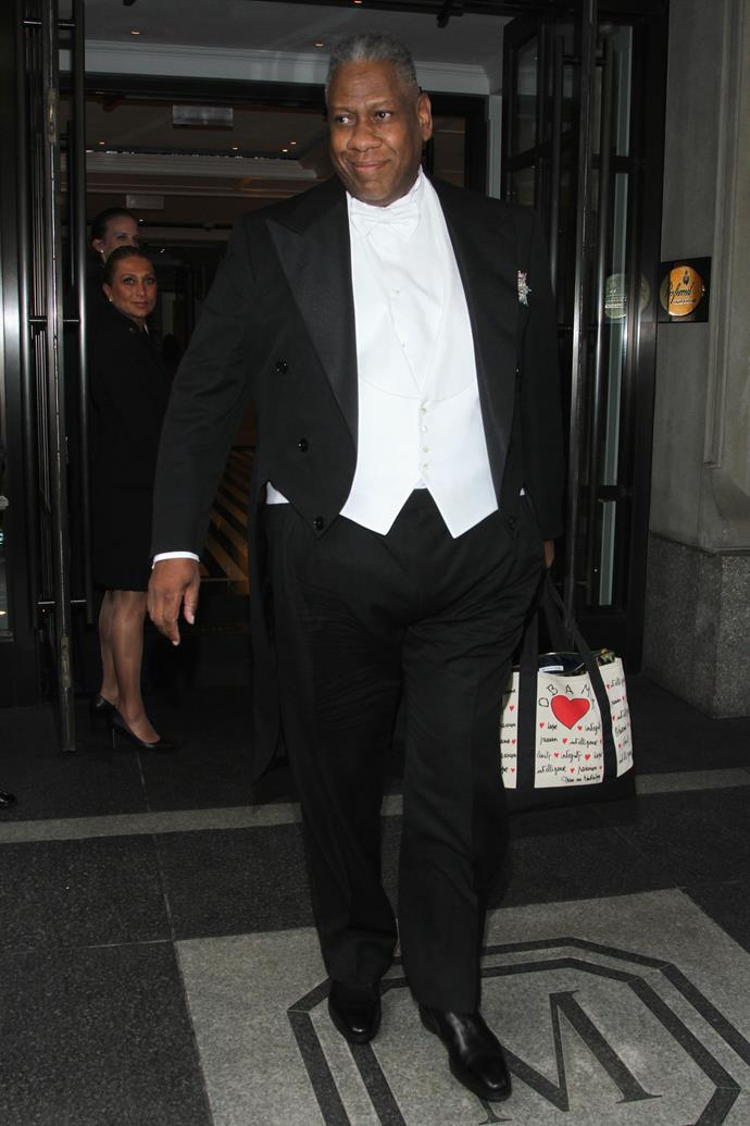 """**ANDRÉ LEON TALLEY** <br><br> American *Vogue* contributing editor **André Leon Talley** coincidentally appeared in probably one of the most dramatic episodes of the entire show. During a live TV appearance featuring Talley that was documented for *The Hills*, Talley witnessed **Whitney Port** [fall down a flight of stairs](https://www.youtube.com/watch?v=iVZRgirGufc