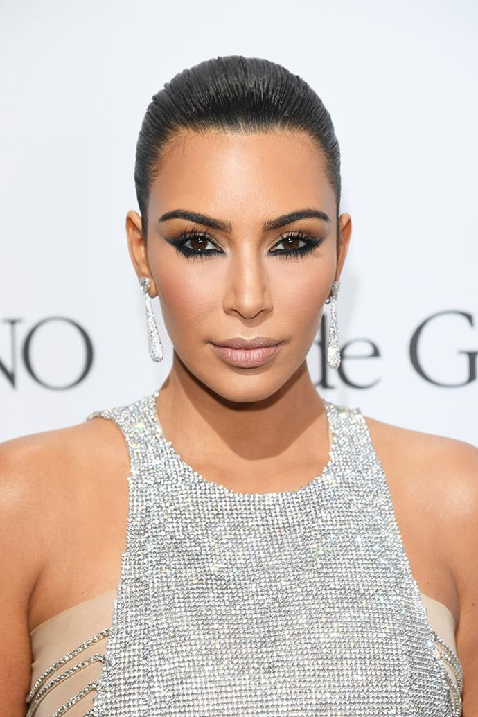 **KIM KARDASHIAN** <br><br> Treatment: Vampire facial <br><br> Cost: Approx. $1,900 <br><br> A couple of years ago, we witnessed Kim Kardashian get a vampire facial on our television screens, and it didn't look remotely enjoyable. The treatment, which injects your face with your own blood, can cost around $1,900.