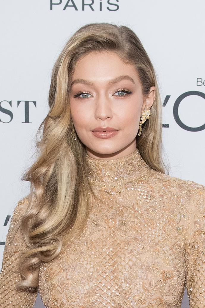 "**GIGI HADID** <br><br> Treatment: Manicure <br><br> Cost: Approx. $2,500 <br><br> Gigi Hadid's manicure for the [2016 Met Gala](https://www.harpersbazaar.com.au/celebrity/all-the-looks-met-gala-2016-red-carpet-12911|target=""_blank"") cost nearly $2,500. The silver-chrome nails were apparently ""hidden with crystals."" Mary Soul, her nail artist, said that she added three crystals underneath each nail for ""an element of surprise."""