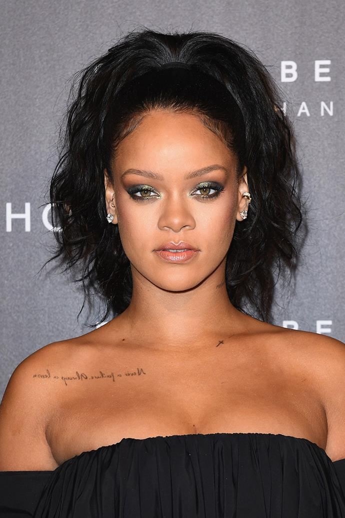 **RIHANNA** <br><Br> Treatment: Hair <br><br> Cost: Approx. $25,000 per week <br><br> From long luscious locks to shoulder-grazing lobs, Rihanna rarely steps out with the same hairstyle twice. In fact, the singer-turned-beauty-entrepreneur spends $25,000 a week on a personal hair stylist—that's over one million dollars per year.