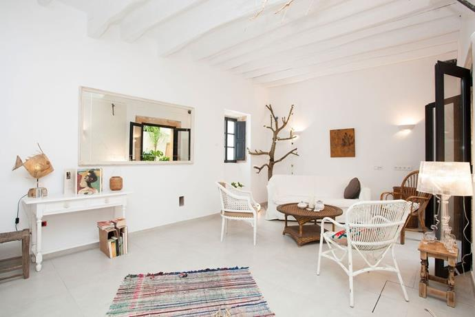 "**Porres, Mallorca, Spain** <br><br> This authentic vila sleeps six guests and has three bedrooms. There is a private pool on site as well as a rooftop terrace where you and the girls can lounge to your heart's content while soaking in the sights of Mallorca. The house is a few minutes walk away from a village square where there are shops, bars and restaurants. <br><br> *(Via [Airbnb](https://www.airbnb.co.uk/rooms/3277419?s=51|target=""_blank""))*"
