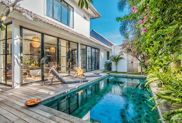 "**Villa Pippa, Bali, Indonesia** <br><br> So you've always wanted to go to Bali? Why not grab five of your best friends and stay in the gorgeous Villa Pippa, found in the stylish resort of Seminyak. The villa has a modern-meets-traditional Balinese vibe, take the outdoor pool flanked by beautiful flowers or the wicker and Balinese antiques theme for the interiors. A plethora of beach clubs, restaurants and bars are close by too, should you ever want to leave the villa. <br><br> *(Via [TripAdvisor Rentals](https://www.tripadvisor.co.uk/VacationRentalReview-g469404-d3170676-3_Bedroom_Villa_Near_Restaurants_Beach_in_Oberoi-Seminyak_Kuta_District_Bali.html|target=""_blank""))*"