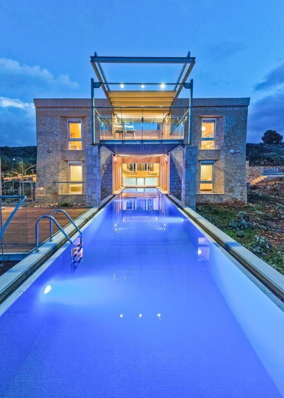 "**Camin VIP Villa, Crete, Greece** <br><br> Let's start with the pool. The incredible pool starts from the inside of the ground floor before ending up outdoors. According to the owners of the villa ""those residing on this level can literally walk out their bedroom door and step directly into the pool"". The villa, which is in Chania, provides scenic views of both the mountains and the sea and sleeps eight. <br><br> *(Via [TripAdvisor Rentals](https://www.tripadvisor.co.uk/VacationRentalReview-g5970984-d10081633-Camin_VIP_villa_Apokoronas_Chania_Crete-Agioi_Pantes_Apokoronas_Chania_Prefecture_Cr.html