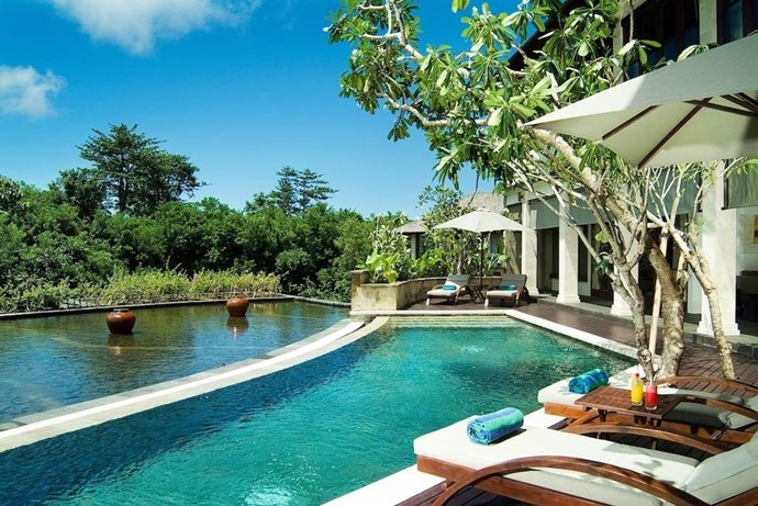 "**Gending Kedis Luxury Villas, Bali, Indonesia** <br><br> Just south of the Bali hotspots of Seminyak and Kuta are the Gending Kedis villas in the coastal fishing village of Jimbaran. A perfect option if you fancy a cultural and relaxing holiday, while also having the option to travel to some of the famed lively spots (nothing is ever too far away in Bali). The villa sleeps up to seven people and there is also a spa at the resort to sample those renowned Balinese massages. <br><br> *(Via [Expedia](https://www.expedia.co.uk/Bali-Hotels-Gending-Kedis-Luxury-Villas-Spa-Estate.h2118557.Hotel-Information?AFFCID=UK.network.affiliatewindow.78888.0.127X618962Xb75da55cb0e6a1a67543badf6a9aa231.3456_1515719276_fc99c2d09208f6b1dde68bb9d3b570fa&awc=3456_1515719276_fc99c2d09208f6b1dde68bb9d3b570fa&clickref=1011l4ysMBDh&src=phg|target=""_blank""))*"