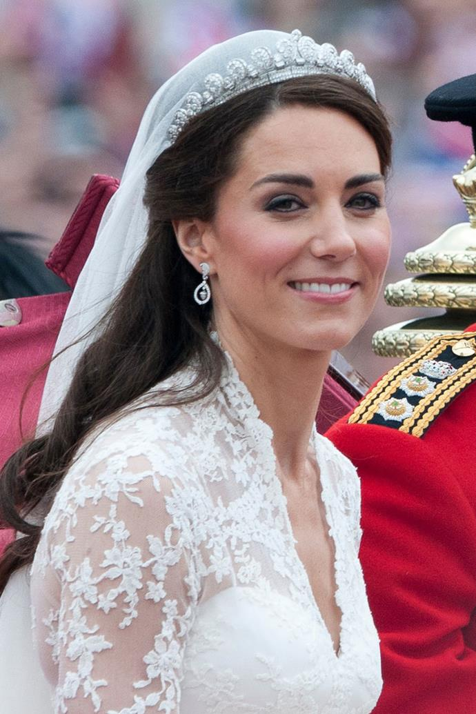 **Kate Middleton** <br><br> After being trained by a professional makeup artist at Bobbi Brown, the Duchess of Cambridge did her own makeup for the royal wedding. Approximately 300 million people watched the event in 2011, no big deal.