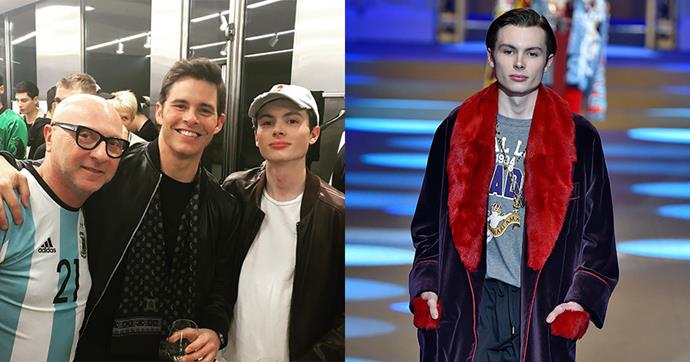 """**Jack Marsden** <br><br> **Celebrity parentage:** Son of James Marsden and Lisa Linde. <br><br> **His deal:** The 16 year old, who is the eldest of Marsden and Linde's three kids (the couple has separated), made his runway debut at Milan Men's Fashion Week walking for Dolce & Gabbana. His proud father [posted on Instagram](https://www.instagram.com/p/Bd5bCkvFLdx/