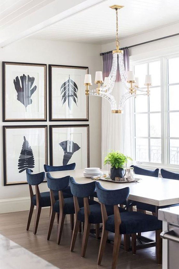 "**BIG WALL ART** <br><br> Blank walls and spaces are no longer the way to style your homes. Large posters, works of art and photography prints are blowing up. <br><br> Saves for ""big wall art"" have increased by 637 per cent. <br><br> Image via: [Pinterest](https://www.pinterest.com.au/pin/502925483373150055/