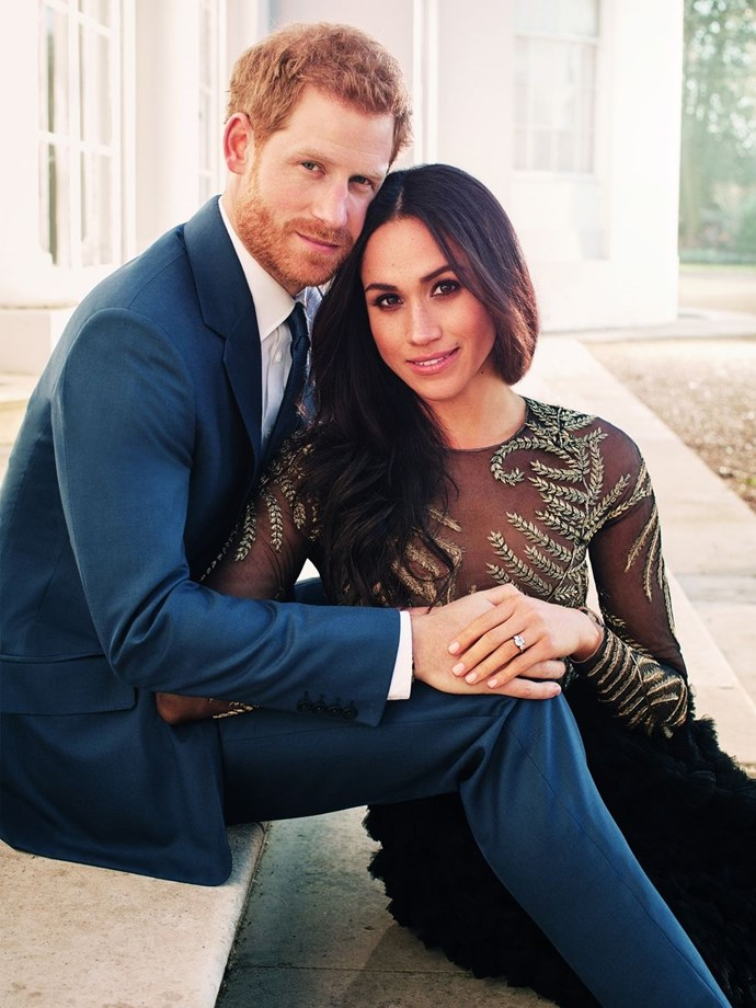 "**On loving Prince Harry** <br><br> ""I can tell you that at the end of the day I think it's really simple,"" she told [*Vanity Fair*](https://www.vanityfair.com/style/2017/09/meghan-markle-cover-story 
