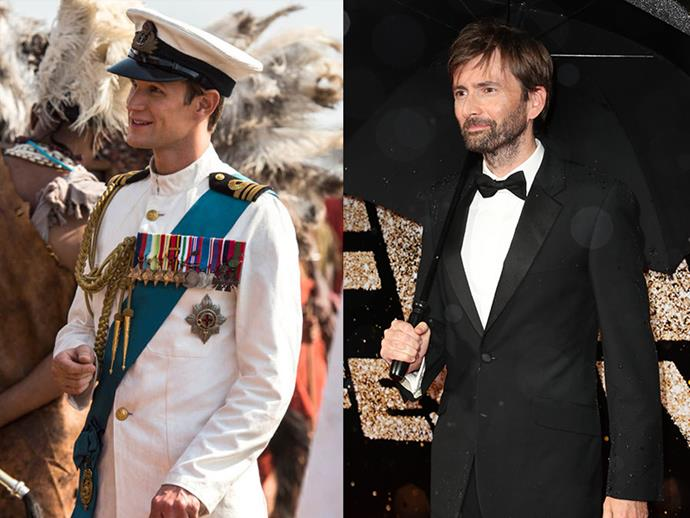 **Prince Philip: Matt Smith may be replaced by David Tennant** <br> Though this hasn't been officially confirmed, there are a lot of rumours surrounding David Tennant replacing Matt Smith in the prestigious role of Prince Philip. This will be amusing for a number of reasons: Firstly, Tennant is a co-star of Olivia Colman in *Broadchurch*, so *The Crown* could play host to a reunion of sorts. Secondly, Tennant played the Doctor in *Doctor Who* prior to Matt Smith taking over—so this role exchange will be a mirrored reverse of their Tardis times.