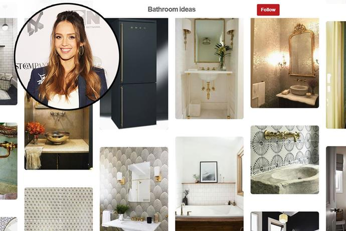"**Jessica Alba** <br><br> Account name: [JessicamAlba](https://www.pinterest.com.au/jessicamalba/|target=""_blank"") <br><br> Follower count: 149k <br><br> Jessica Alba's Pinterest boards are inspired by her business, Honest Beauty, and her role as a mother. They include cute ideas for little ones, home decorating ideas and a glimpse of her personal style."