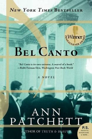 ***Bel Canto* by Ann Patchett** <br><br> **Synopsis:** A famous opera singer named Roxane becomes trapped in a hostage situation after travelling to South America to perform a private concert. <br><br> **Who's in it:** Julianne Moore will star as Roxane. The cast includes Christopher Lambert and Ken Watanabe. <br><br> **Release date:** TBA