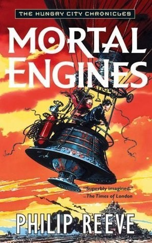 ***Mortal Engines* by Philip Reeve** <br><br> **Synopsis:** In this post-apocalyptic steampunk world, cities are mounted on wheels and have to eat other cities to survive. <br><br> **Who's in it:** Robert Sheehan and Hugo Weaving. <br><br> **Release date:** December 26