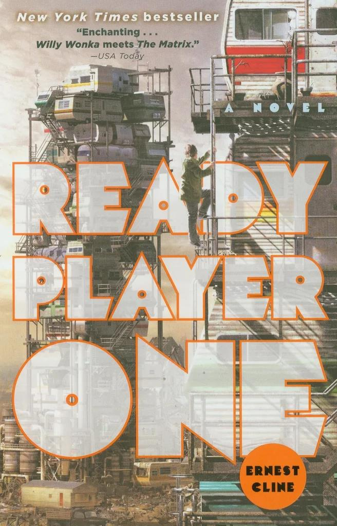 ***Ready Player One* by Ernest Cline** <br><br> **Synopsis:** Teenager Wade Watts gets sucked into a virtual reality game where he has to complete near-impossible puzzles. <br><br> **Who's in it:** Tye Sheridan, Simon Pegg, Olivia Cooke and Ben Mendelsohn. <br><br> **Release date:** March 29