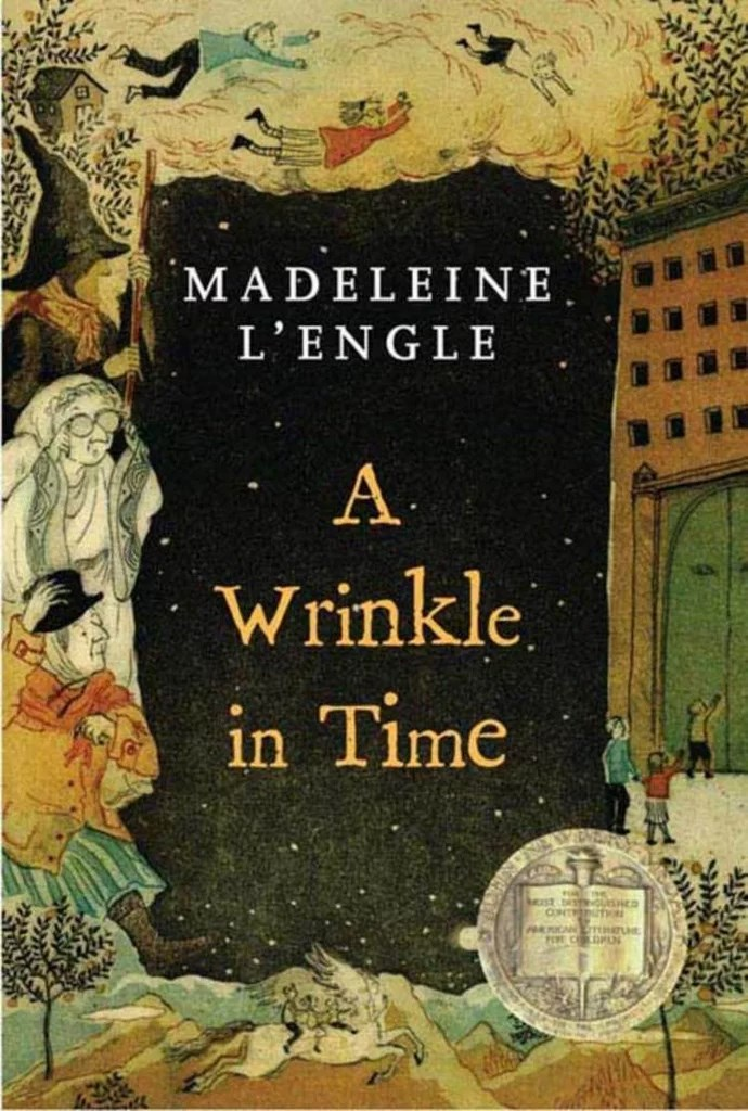 ***A Wrinkle in Time* by Madeleine L'Engle** <br><br> **Synopsis:** Meg Murry travels through space and time after her father goes missing while working on a government project. <br><br> **Who's in it:** Reese Witherspoon, Oprah Winfrey and Mindy Kaling. <br><br> **Release date:** March 22