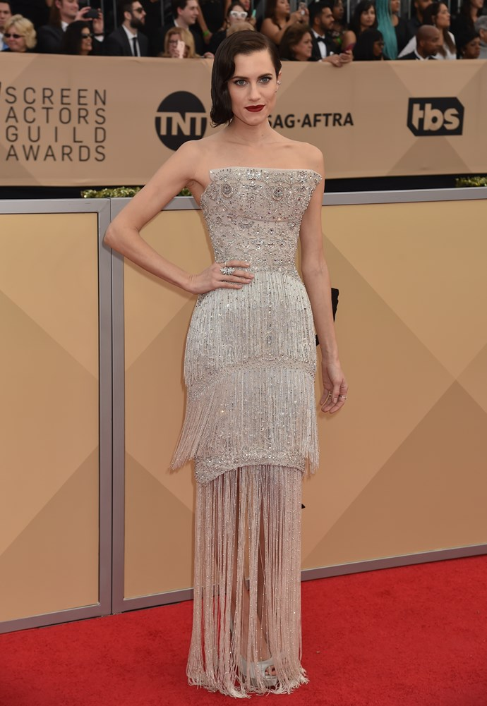 Allison Williams in Ralph & Russo Couture