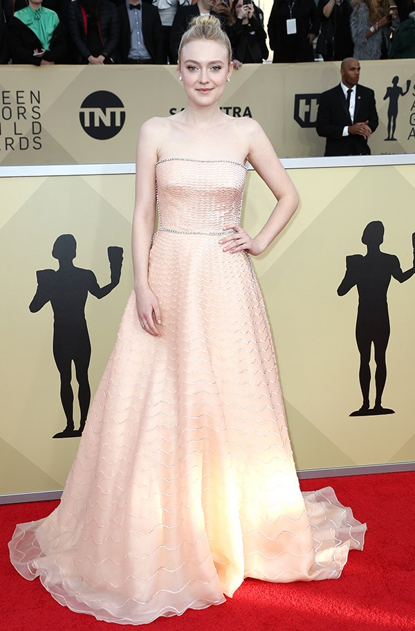 Dakota Fanning in Prada