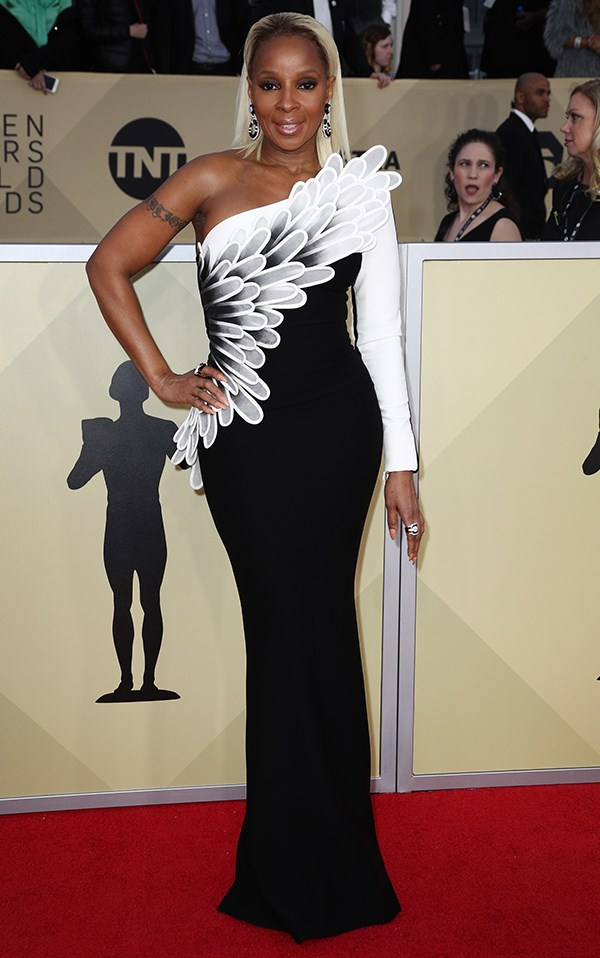 Mary J Blige in Jean-Louis Sabaji