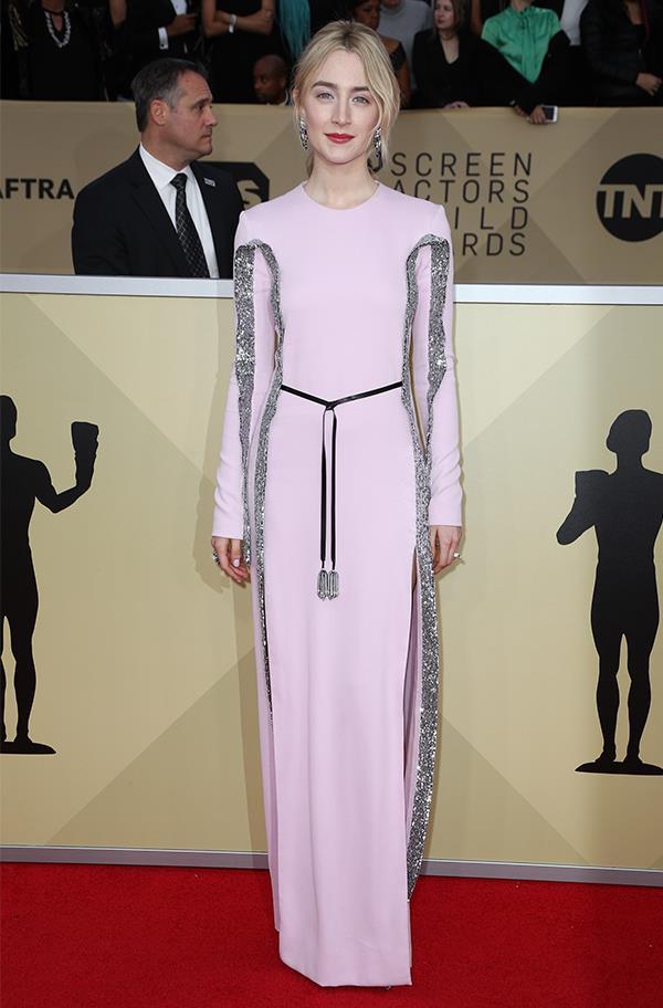 Saoirse Ronan In Louis Vuitton