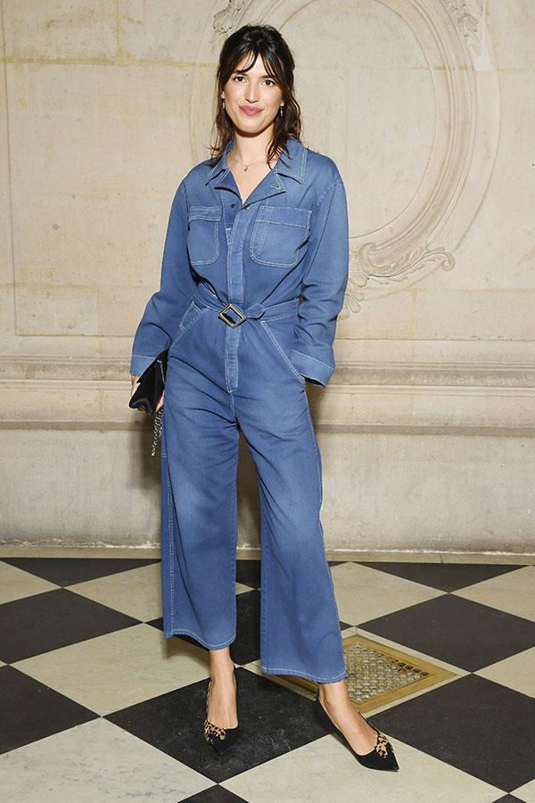 **The front row:**<br><br>  Jeanne Damas