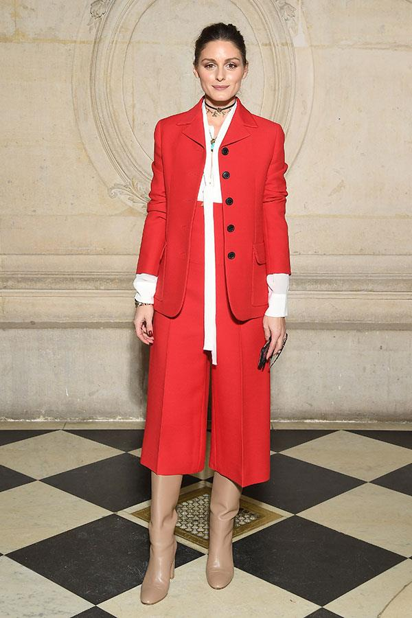 **The front row:**<br><br>  Olivia Palermo