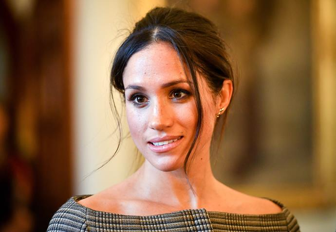 Meghan visits Cardiff Castle on January 18, 2018.