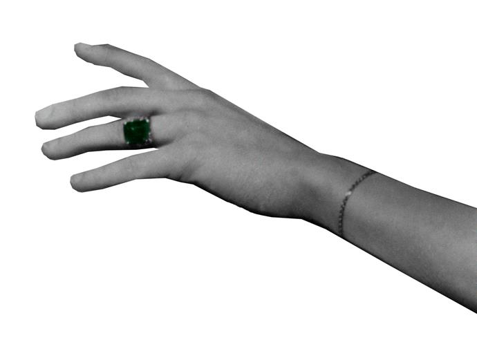 Wallis Simpson's emerald ring.