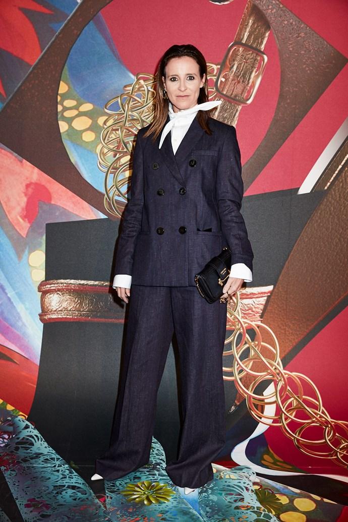 Blogger Amanda Shadforth wearing Victoria Beckham from NET-A-PORTER