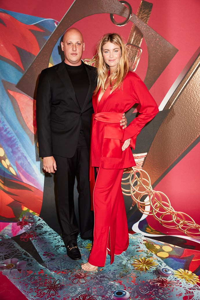 Designer Anthony Lo Sordo and Elyse Taylor