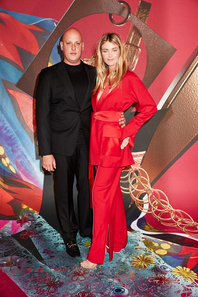 Designer Anthony Lo Sordo and Elyse Taylor