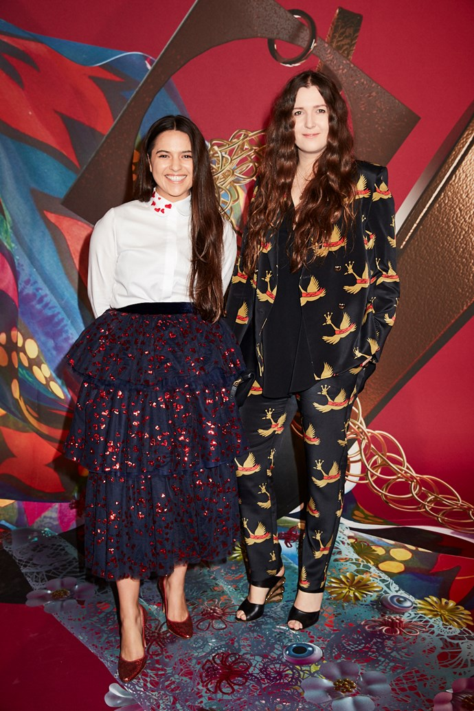 Designers Beth and Tessa Macgraw