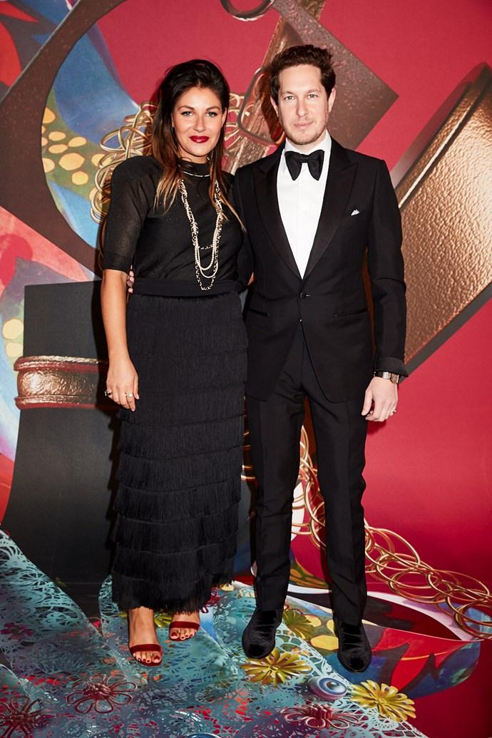 Designers Camilla Freeman-Topper and Marc Freeman.