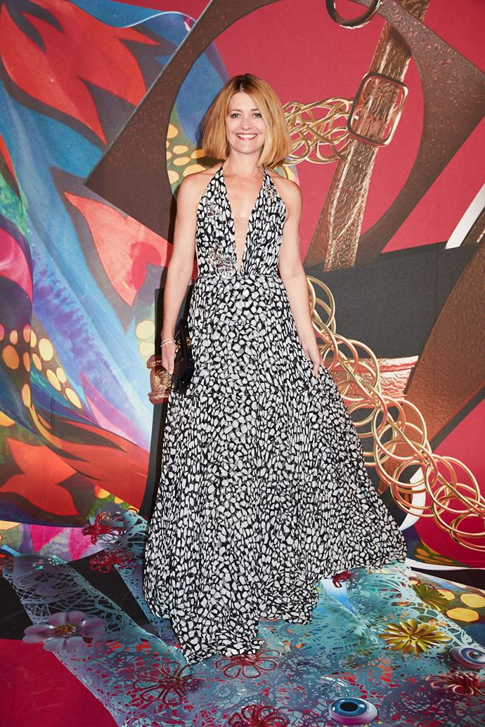 BAZAAR editor-in-chief Kellie Hush