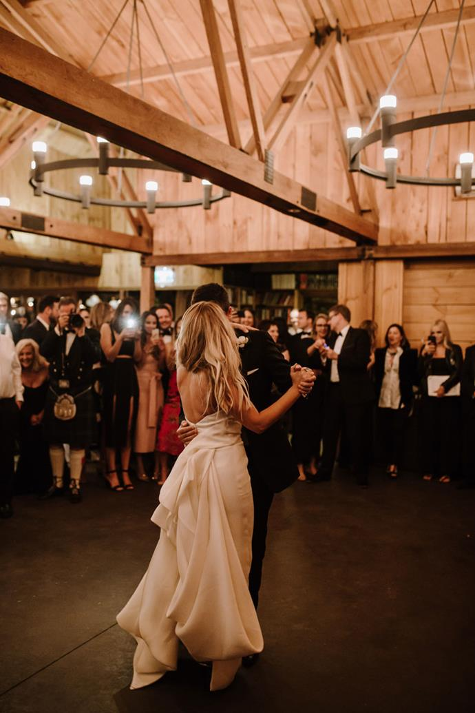 **On their first dance: **We took up dance lessons with my old dance teachers growing up and danced to 'Thinking Out Loud' by Ed Sheeran. That's a memory I will never forget.