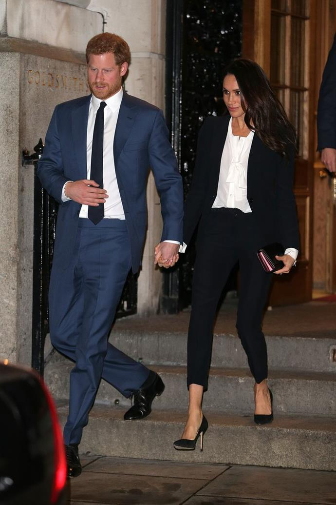 Meghan Markle and Prince Harry at the Endeavour Fund Awards Ceremony in London