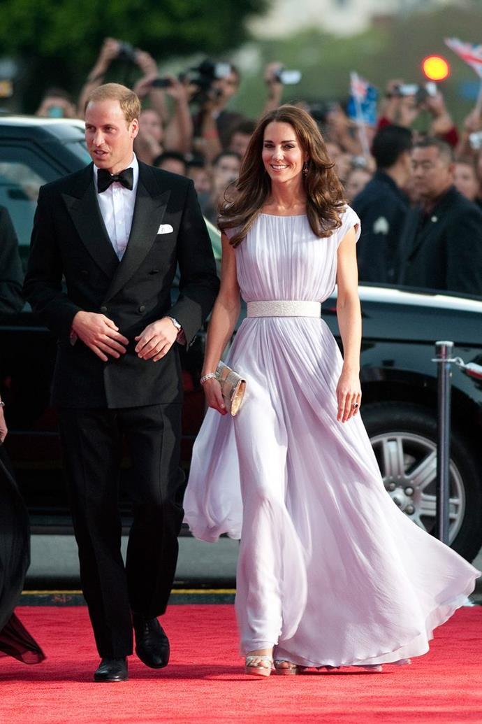 The Duchess in McQueen in 2011