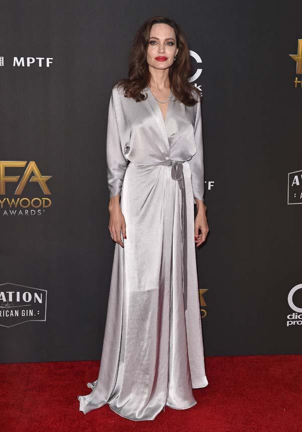 In Jenny Packham at the Hollywood Film Awards, November 5th 2017.