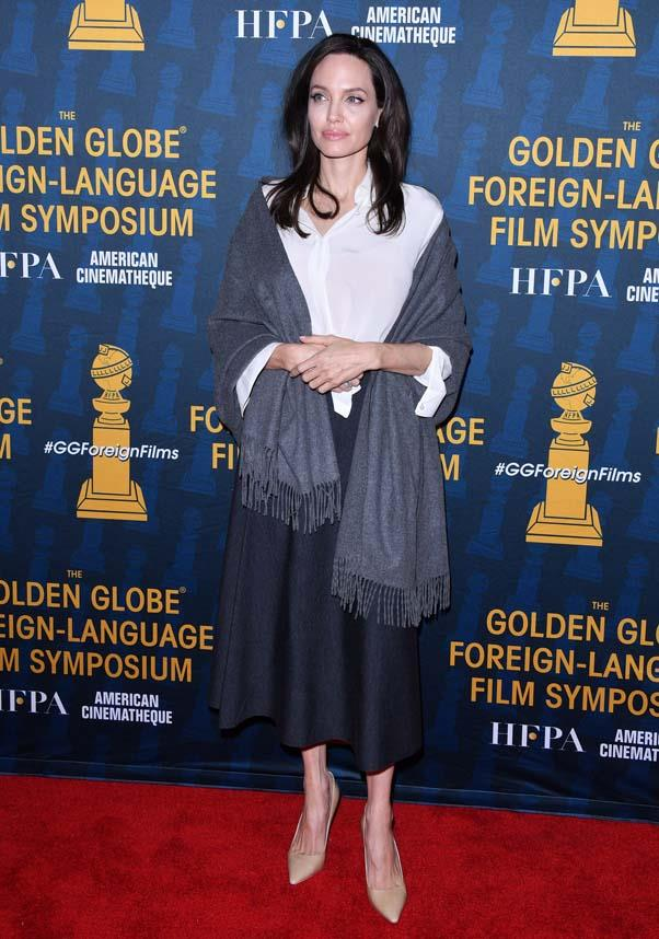 At the Golden Globe Foreign-Laguage Nominees Symposium, January 6th 2018.