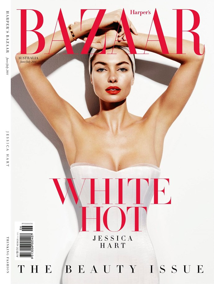 """**Jessica Hart, June/July 2014**     **[Clare Maclean, fashion features director](https://www.instagram.com/clare_m_maclean/