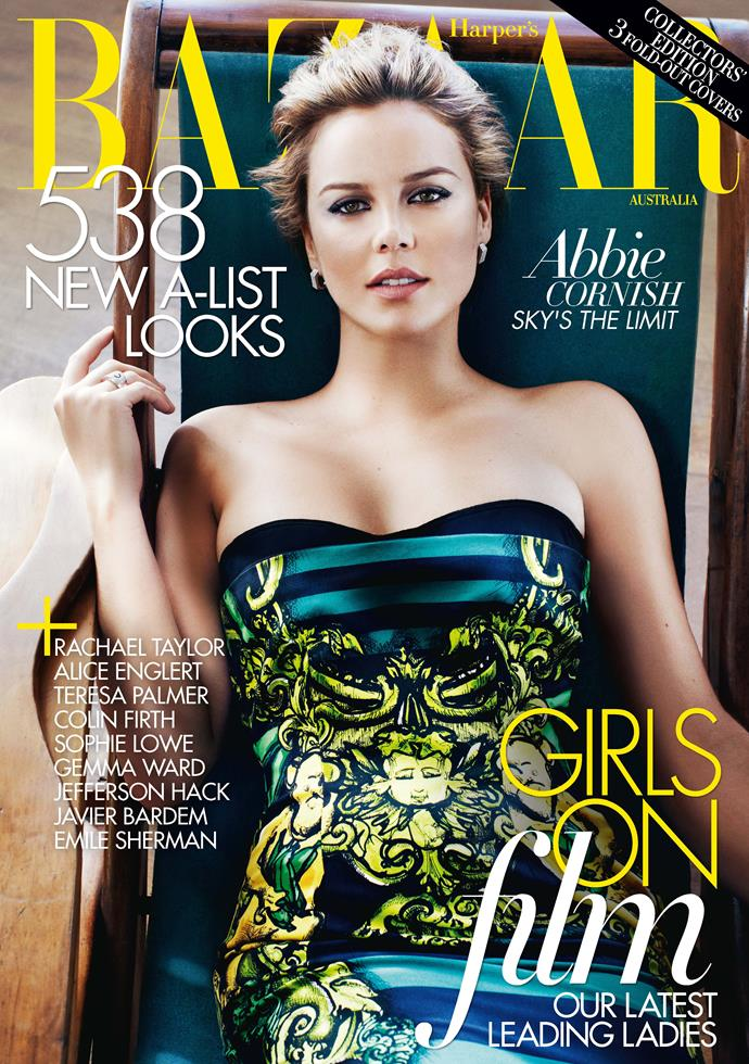 "**Abbie Cornish, April 2011**    **[Naomi Smith, fashion director](https://www.instagram.com/naomismith/?hl=en|target=""_blank"")**     I like this cover because Abbey is wearing a dress from one of my favourite Prada collections - Spring/Summer 11."