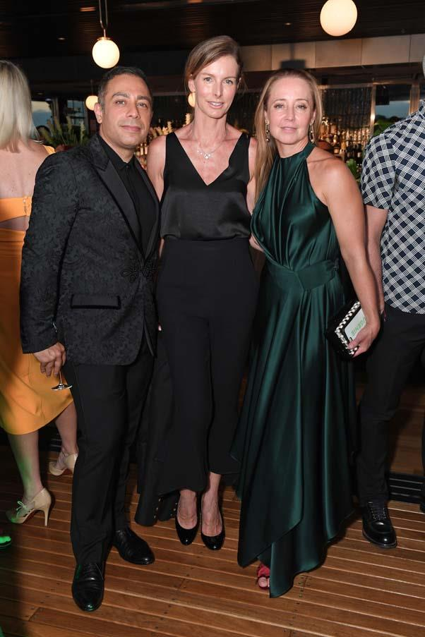 Ali Shoraka, Christine Burke and Eugenie Kelly