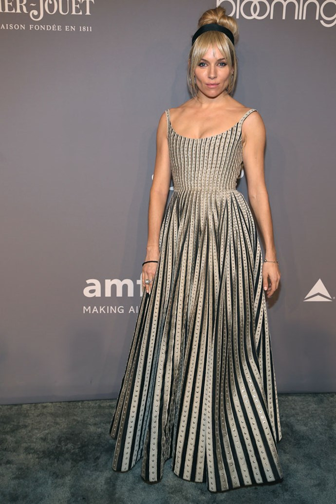 Sienna Miller in Christian Dior Couture