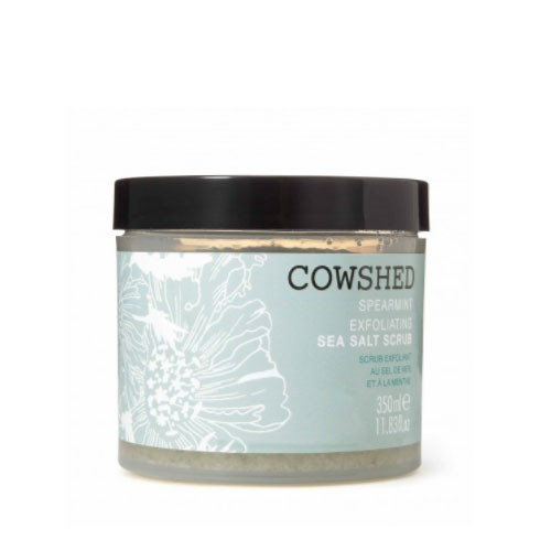 "**Cowshed Spearmint Exfoliating Sea Salt Scrub, £40.00 at [Cowshed](https://www.cowshedonline.com/spearmint-exfoliating-sea-salt-scrub.html|target=""_blank"").**  <br><br> Skincare brand Cowshed literally began out of a cow shed in Somerset, England. Cowshed products are all natural and free from nasties, including parabens, petrochemicals and sulfates. We hear the Spearmint Exfoliating Sea Salt Scrub is particularly luxe."