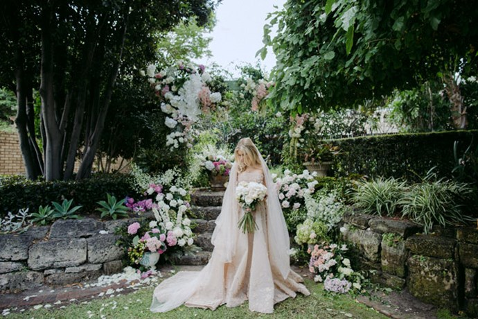 **Her one tip for future brides: **Everyone is there to help you! Don't get too bogged down in the little things, you really won't notice them on the day.