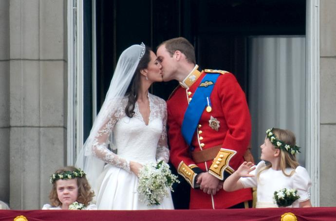 ***There will be no balcony kiss*** <br><br> One of the most iconic moments from the wedding of Prince William and Kate was their adorable balcony kiss, where the couple shared a very shy peck before the crowds at Buckingham Palace. <br><br> Unfortunately we won't be getting a repeat of that for Meghan and Harry. As they are getting married at Windsor Castle, which has no balcony and is around 2 hours from Buckingham, the newlyweds will most likely be skipping that tradition. <br><br> It has been speculated that they might share a kiss elsewhere, perhaps on the steps of the Chapel, or in their carriage procession.