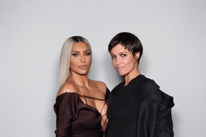 Kim Kardashian West and Cassandra Grey.