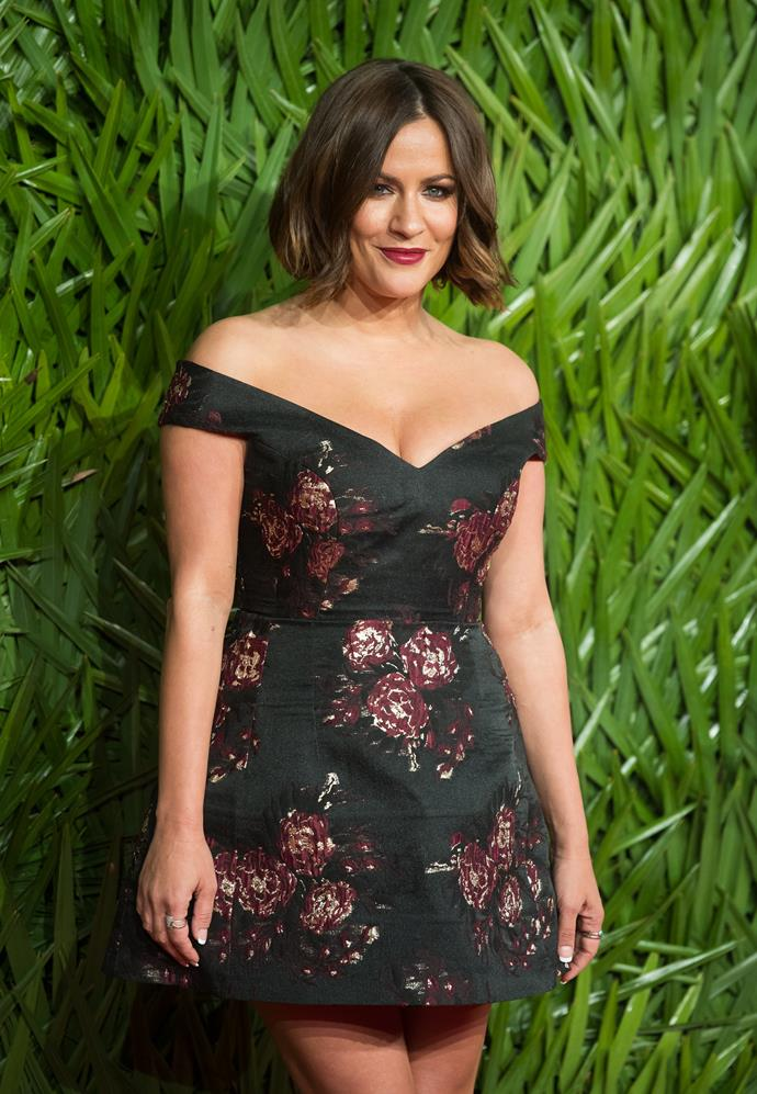 """**Prince Harry's Ex-Girlfriend: Caroline Flack** <br><br> The *Love Island* presenter revealed herself that she and Prince Harry dated for a short time, back in 2009. In her book, she writes: """"Once the story got out, that was it. We had to stop seeing each other. I was no longer Caroline Flack, TV presenter, I was Caroline Flack, Prince Harry's bit of rough,'"""" Flack explained."""