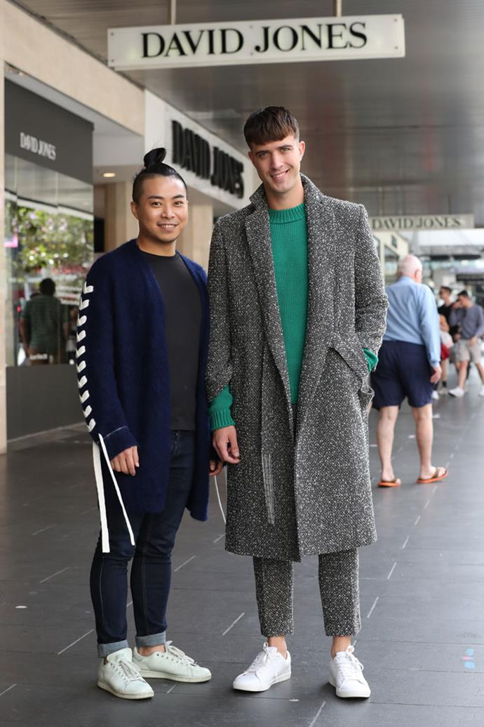 **Chris Ran Lin**  Chirs Ran Lin is a master of knitwear, combining old-school tailoring with new and innovative designs.