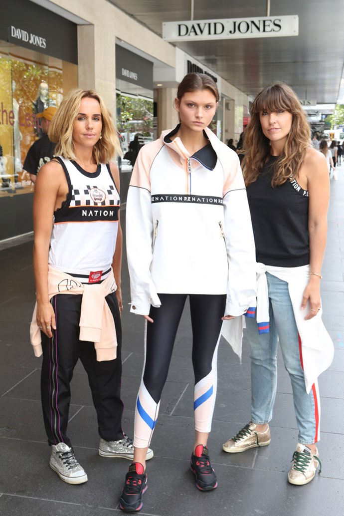**P.E Nation**  P.E Nation expertly toes the line between sporty and stylish activewear with a signature streetwear spin.